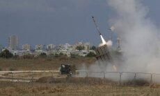 Izraēla devusi triecienus desmitiem Irānas mērķu Sīrijā