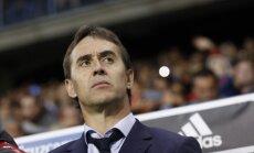Spānijas futbola izlases galvenais treneris Lopetegi pēc Pasaules kausa pārņems Madrides 'Real'