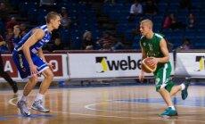 'Valmieras' basketbolisti saspringtā galotnē izcīna uzvaru pret 'Jelgavu'