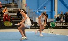 Ostapenko un Sevastova dubultspēlēs Indianvelsā piedzīvo zaudējumu pirmajā kārtā