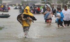 Vētrā 'Hārvijs' uzstādīts jauns ASV nokrišņu rekords