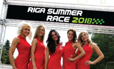 Autošosejas sacensību 'Riga Summer Race' otrā diena