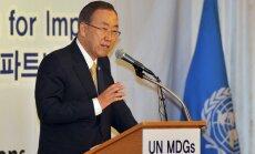 Pasaule tuvojas kodolieroču izraisītai iznīcībai, uzskata bijušais ANO ģenerālsekretārs