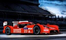 Priekšpiedziņas 'Nissan GT-R LM Nismo' startam Lemānas 24 stundu sacīkstēs