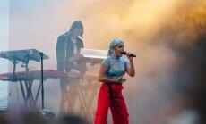 Foto: Tove Lo izaicinošā uzstāšanās 'Positivus' festivālā