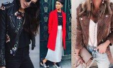 Jakas, mēteļi un kažoki: šī gada modes aktualitātes dzestrajam laikam