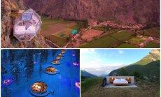 Neparastas un oriģinālas: pārsteidzošas viesnīcas dažādās pasaules malās