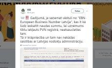 Iedzīvotājus samulsina vēstules reģistrēties Eiropā; VID brīdina par krāpniecību