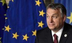 ĀM pagaidām nekomentē EP komitejas aicinājumu pakļaut Ungāriju 7.panta procedūrai