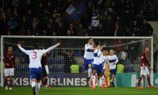 Latvijas futbola izlase zaudē Fēru salām