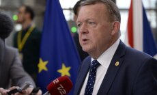 Rasmusens aicina Turcijas premjerministru atlikt šomēnes plānoto vizīti Dānijā