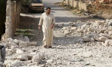 Deviņos Krievijas gaisa triecienos Sīrijā trāpīts slimnīcām, ziņo mediķi