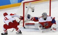 OAR hokejisti kļūst par pirmajiem olimpiskajiem finālistiem