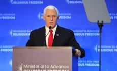 Вице-президент США обвинил Китай в попытках подорвать американскую демократию