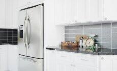Ledusskapis kā interjera pērle un virtuves akcents