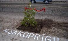 Lielāki tēriņi un vēl vairāk remontu Rīgas ielās – ko nesīs 2018. gads. Teksta tiešraides arhīvs