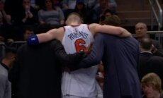 'Knicks' galvenais treneris par Porziņģa traumu: tas ir ļoti skumji