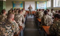 Latvijas karavīri turpina apmācīt Ukrainas armijas instruktorus