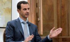 ASV vēstniece: Asada gāšana 'nav mūsu prioritāte'