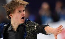 Daiļslidotājs Vasiļjevs ar jaunu personisko rekordu izcīna ceturto vietu Eiropas čempionātā