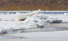 Šopavasar Daugavā gaidāms krietni augstāks ūdens līmenis nekā iepriekš