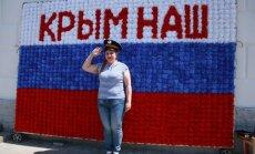 Ukrainas 'Oščadbank' no Krievijas par zaudējumiem Krimā prasa miljardu ASV dolāru