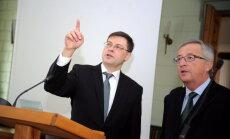 Dombrovskis savas izredzes iegūt portfeli ekonomikas vai finanšu jomā raksturo kā labas