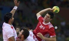 Riodežaneiro vasaras olimpisko spēļu vīriešu handbola turnīra rezultāti (15.08.2016.)