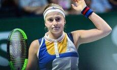 Остапенко проиграла второй матч в Сингапуре и лишилась шансов на выход в полуфинал