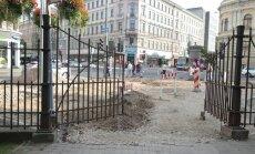 Krišjāņa Barona iela – iela, kas nekad nav gatava?