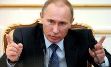 """Путин об отставке Фурсенко: не нужно """"сопли жевать"""""""