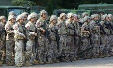 Aizsardzības ministrija varētu dibināt jaunus Zemessardzes bataljonus