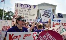 ASV Augstākā tiesa atzīst Teksasas abortu ierobežošanas likumu par antikonstitucionālu