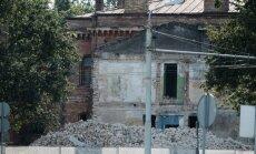 ФОТО: на месте полицейского участка возводят жилой комплекс