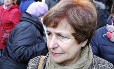 Ždanoka protesta akcijā aicinās Vējoni neizsludināt pakāpenisku pāreju uz mācībām latviski