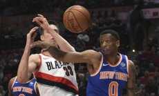 'Knicks' turpina rādīt bezspēcību un piedzīvo piekto zaudējumu pēc kārtas