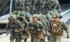 Dienvidkoreja un ASV sāk kārtējās kopīgās militārās mācības