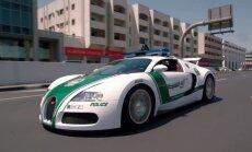 Video: Dubaijas policija demonstrē savu glauno autoparku