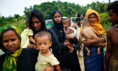 No Mjanmas uz Bangladešu bēguši 123 000 rohindžu