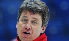 Russian team coach Harijs Vitolins