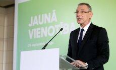 Piebalgs: 'Vienotībai' Saeimas vēlēšanās jāstartē atsevišķi; tuvākais domubiedrs – JKP