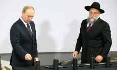 Putina gāšanas gadījumā ebrejus gaida 'nopietnas briesmas', brīdina Krievijas rabīns