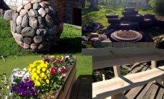 Piena ceļš un akmens bumbas – 'Delfi' lasītāji izdaiļo piemājas dārzus