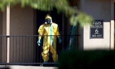 Ņujorkas slimnīcā ar Ebolas simptomiem ievietots no Āfrikas atgriezies ārsts