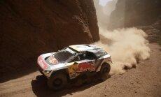 Peteransels uzvar Dakaras rallija trešajā posmā; vadību kopvērtējumā saglabā Lēbs