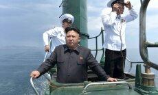 Pazudusi Ziemeļkorejas zemūdene