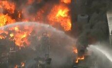 Video: Rūpnīcā Fīniksā izcēlies postošs ugunsgrēks