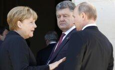 Путин призвал Порошенко к прямому диалогу с Донбассом