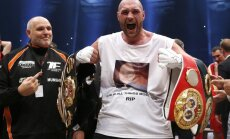 ВИДЕО: Фьюри объявил о переносе боя с Кличко
