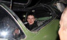 Савченко приехала в Донбасс и села за штурвал боевого вертолета